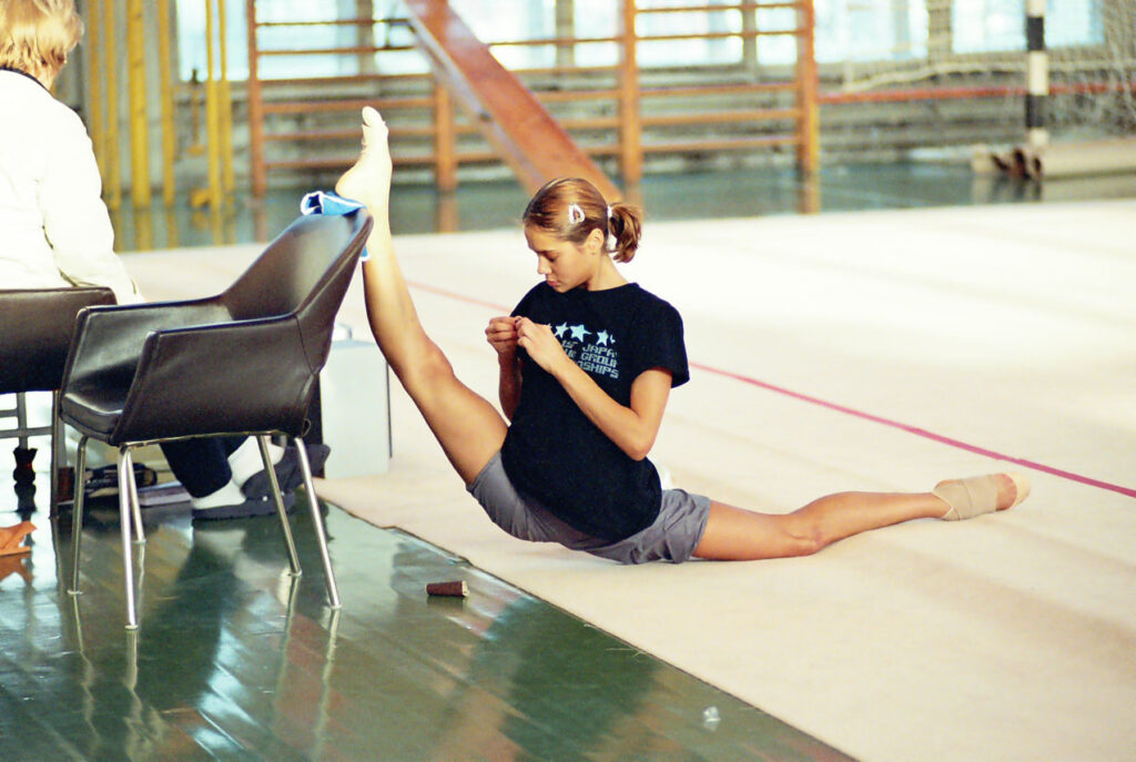 stretching for gymnastics and dance