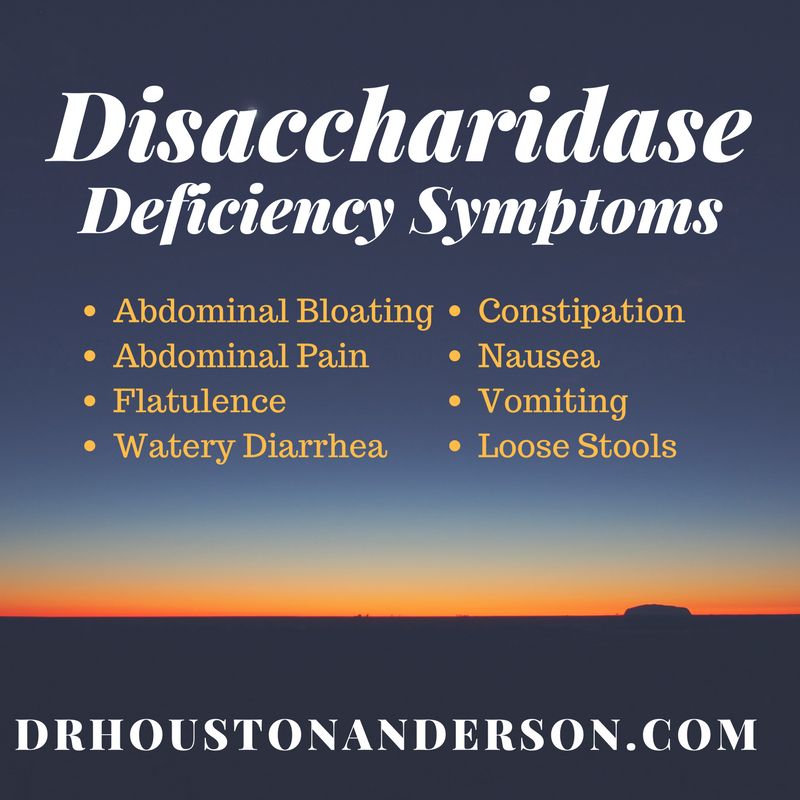 Disaccharidase deficiency natural treatment
