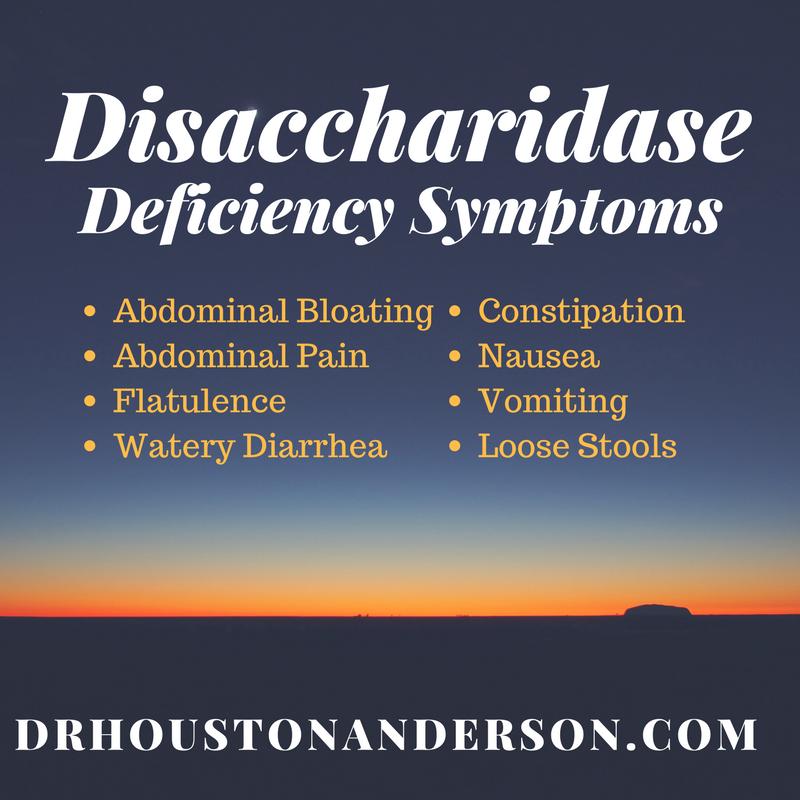 Disaccharidase deficiency natural treatment